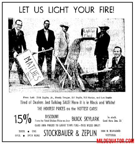 Let Us Light Your Fire!