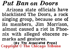 Put Ban On Doors