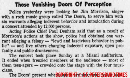 Those Vanishing Doors Of Perception