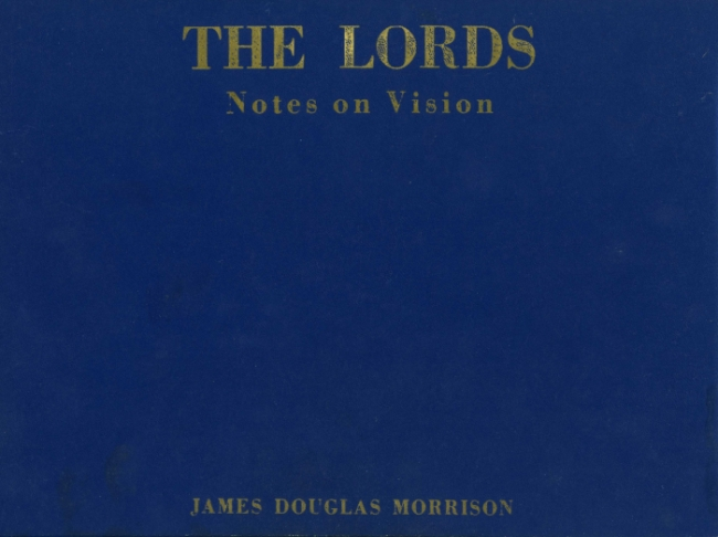 The Lords - Notes On Vision