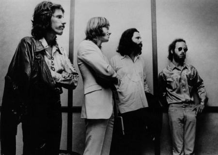 Jim Morrison and The Doors During The Miami Trial