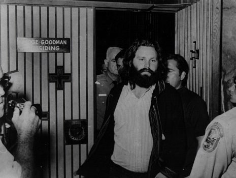 Jim Morrison Is Sentenced