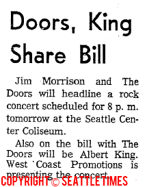 Seattle Center Coliseum - Article