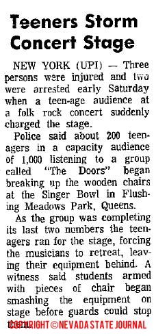 Teeners Storm Concert Stage