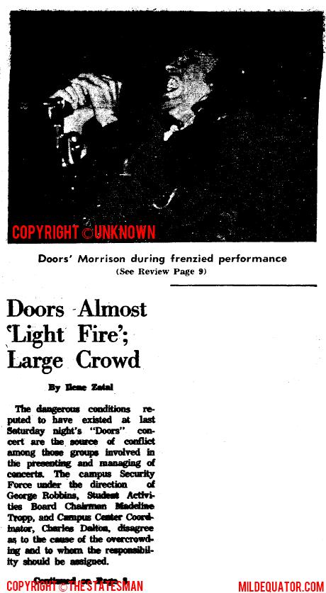 Doors Almost Light Fire Pt1