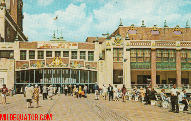 Asbury Park Convention Hall - Postcard