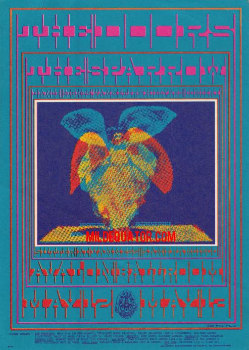 Avalon Ballroom May 1967 - Handbill