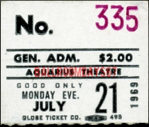 Aquarius Theater - Ticket