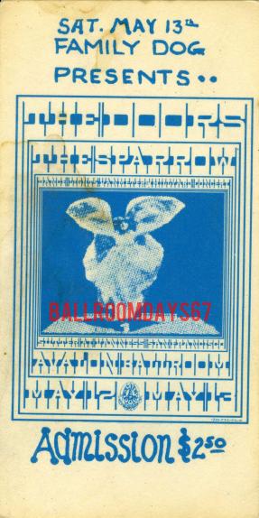 Avalon Ballroom - Ticket
