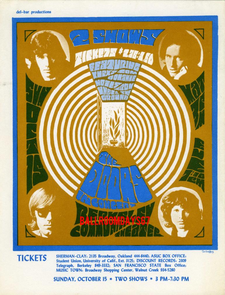 Berkeley Community Theater - Handbill