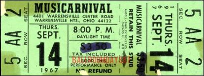 Cleveland - Ticket