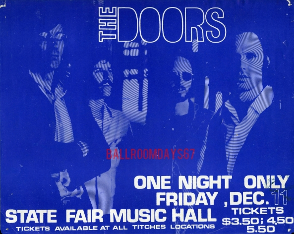 Dallas State Fair Music Hall - Handbill