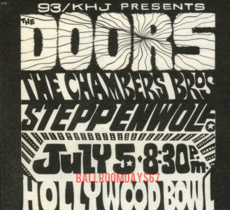 Hollywood Bowl - Print Ad