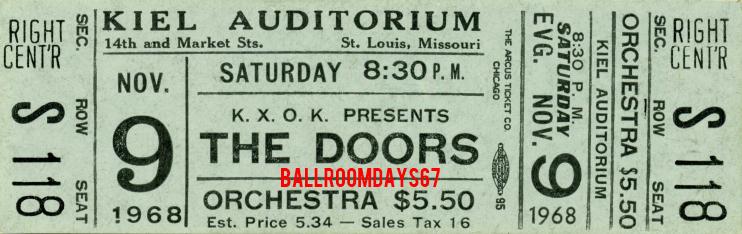 Kiel Auditorium - Ticket