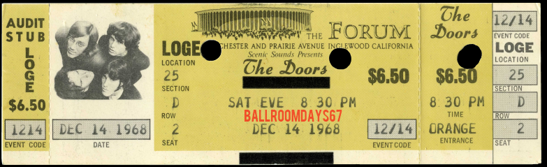 L.A. Forum - Ticket