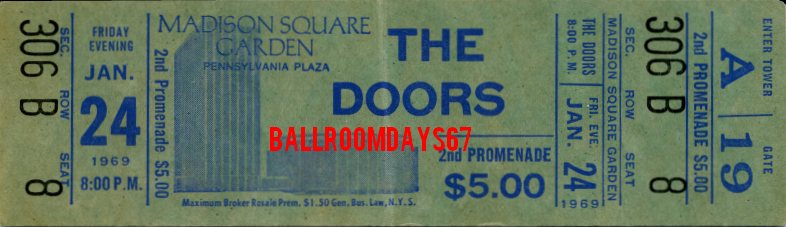 madison square garden ticket