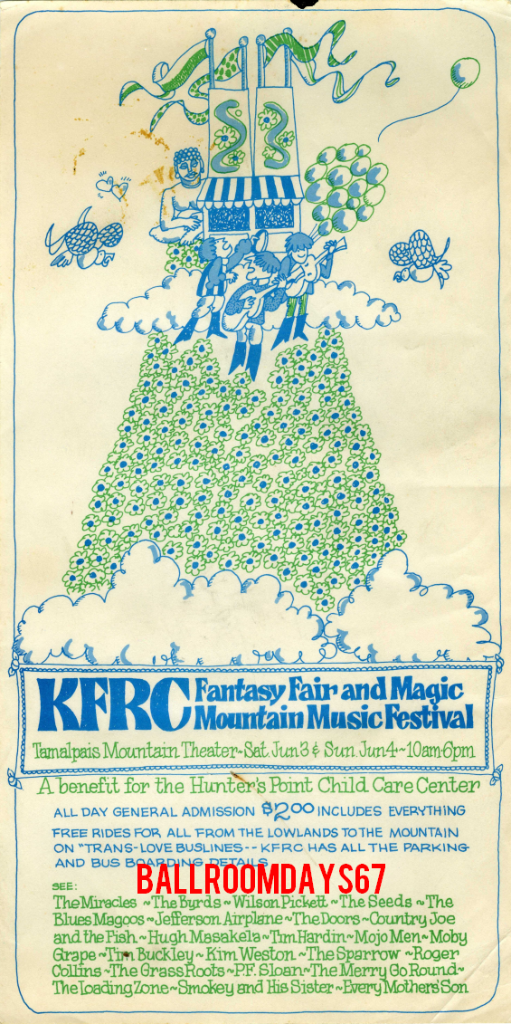 Tamalpais Mountain Theater - Handbill