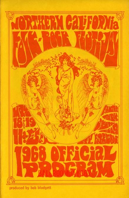 Northern California Folk Rock Festival - Program
