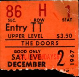 Portland Memorial Coliseum - Ticket
