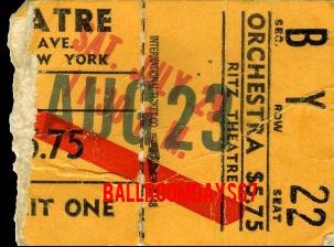 Ritz Theatre - Ticket