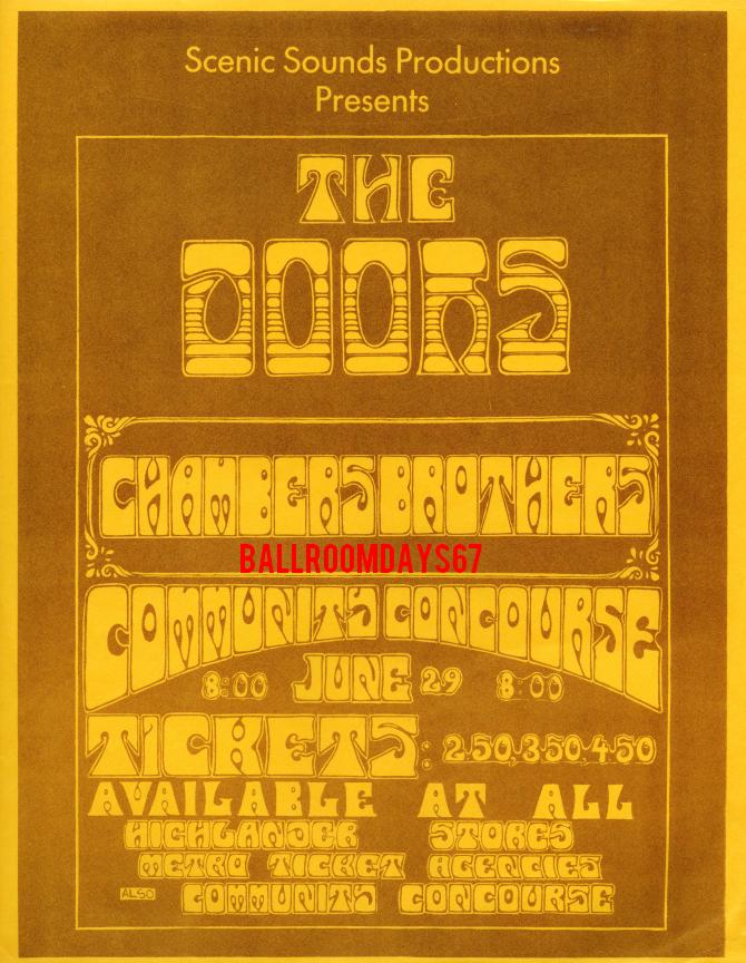 San Diego 1968 - Handbill