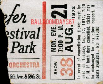 Schaefer Music Festival - Ticket
