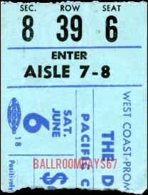 Vancouver PNE Coliseum - Ticket