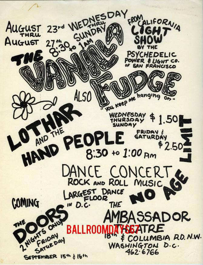 Ambassador Theatre - Handbill