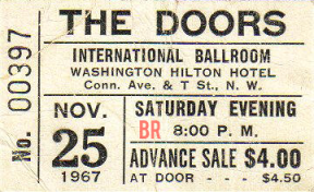 Hilton Hotel - International Ballroom - Ticket