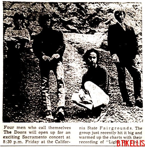 The Doors - State Fair Grandstand 1967 - Picture Ad