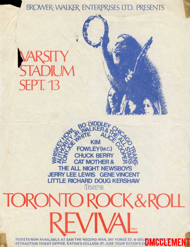 The Doors Toronto Rock N Roll Revival 1969