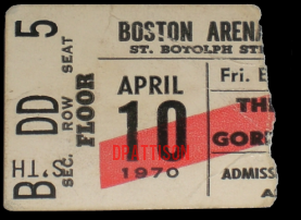 Boston Arena - Ticket