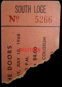 Sam Houston Coliseum - Ticket