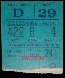 Madison Square Garden - Ticket