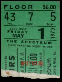 Philadelphia Spectrum - Ticket