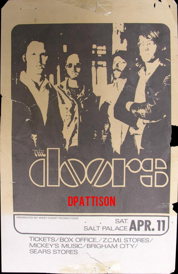 Salt Palace 1970 - Handbill