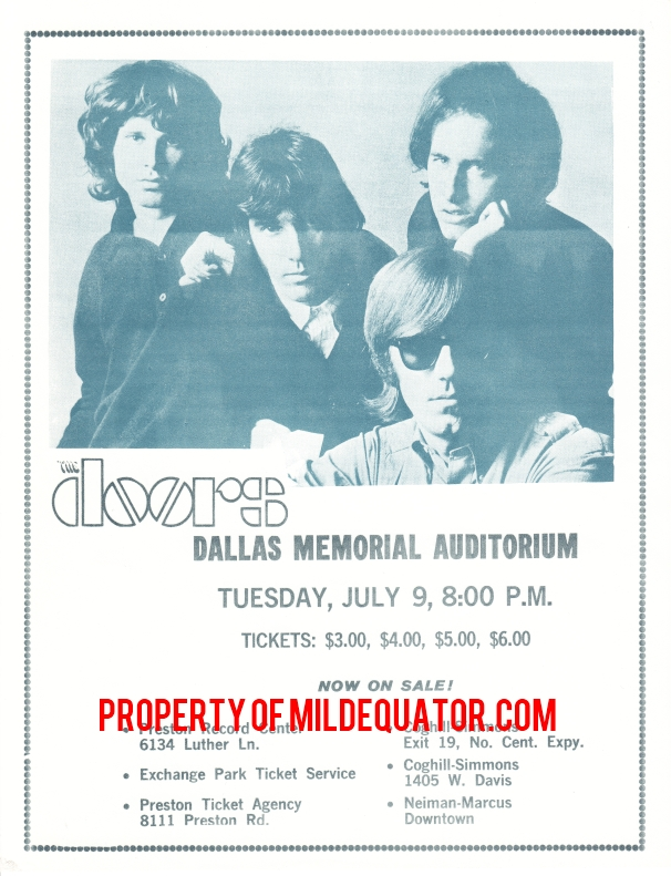 Dallas Memorial Auditorium - Handbill