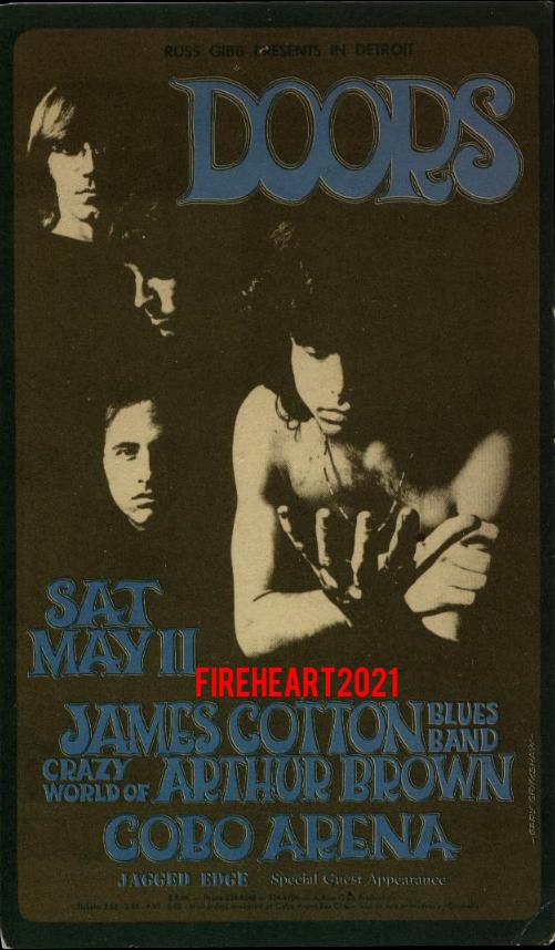 Detroit Cobo Hall - Handbill