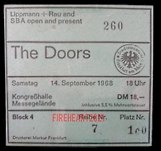 Frankfurt Kongresshalle - Ticket