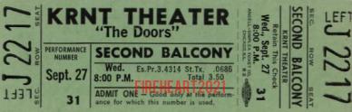 KRNT Theater - Ticket