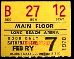 Long Beach - Ticket