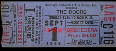 Saratoga Performing Arts Center - Ticket