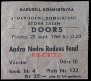 Stockholm Konserthuset - Ticket