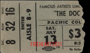 Vancouver Pacific Coliseum - Ticket