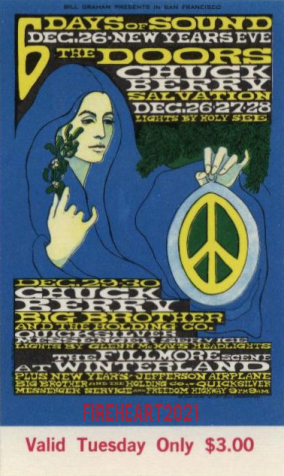 Winterland Arena - Ticket