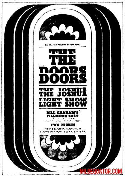 Fillmore East - Print Ad