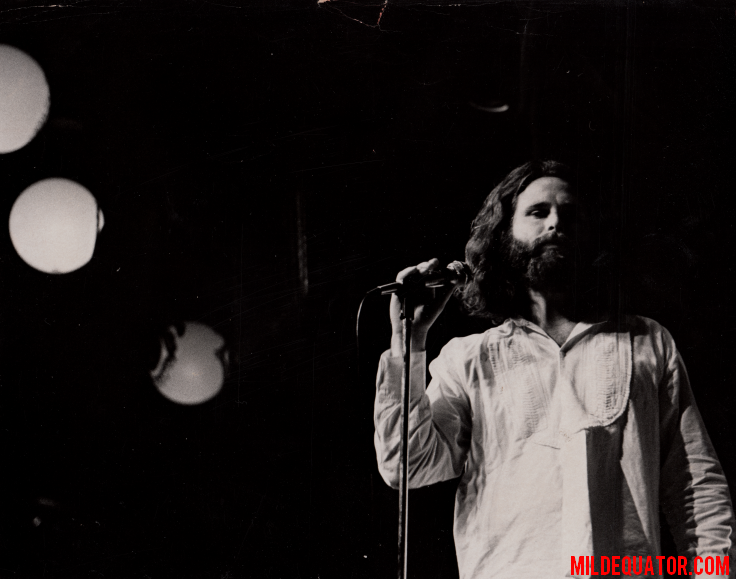 Jim Morrison and Canned Heat - The Hump 1970 - Press Photo