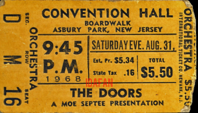 Asbury Park Convention Hall - Ticket