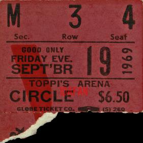 Philadelphia Sports Arena - Ticket