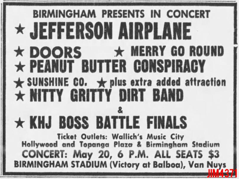 Birmingham Stadium 1967 - Print Ad